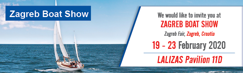 LALIZAS Croatia will be at Zagreb Boat Show 2020, by having its own PAVILION!